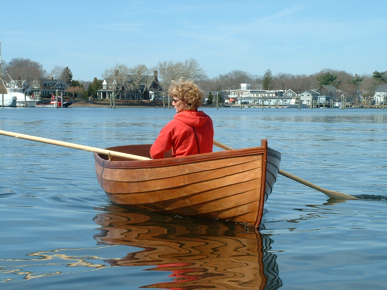 10′ Lapstrake Rowboat | Kingston Wooden Boats